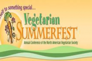 Speaking at Vegetarian Summerfest